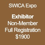 Exhibitor - SWICA Non-Member Full Registration